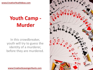 Youth Camp - Murder