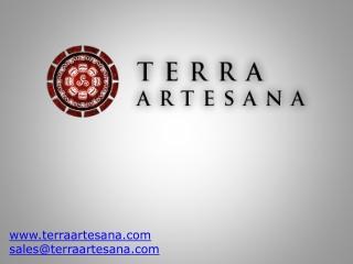 TERRA ARTESANA - Products