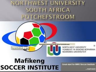 Postgraduate studies in South Africa - NWU University Doctor