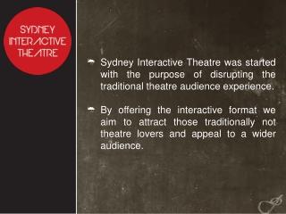 Sydney Interactive Theatre