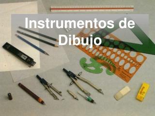 instrumentos para el dibujo tecnico
