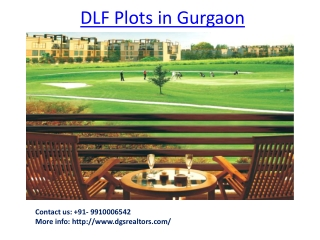 DLF Plot in Gurgaon