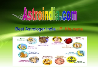 Great Astrologer and Numerologist India, P. Khurranna