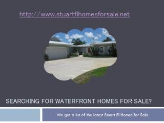 searching for waterfront homes for sale?
