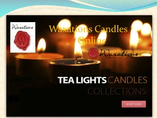 Where to Buy Large Candles