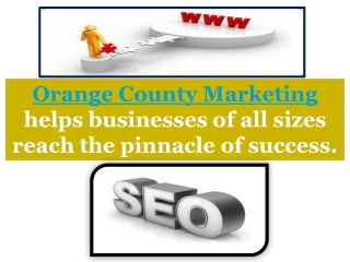Digital Marketing Orange County