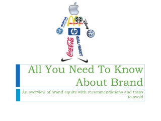 All You Need To Know About Brand