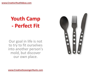 Youth Camp - Perfect Fit