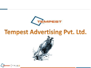 Tempest Advertising - Leading advertising agency in Hyderaba