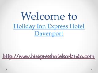 holiday inn express hotel kissimmee