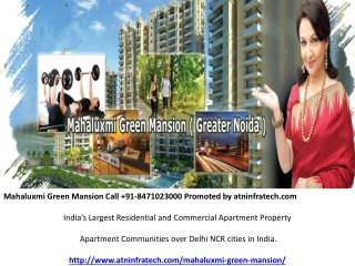 Mahaluxmi Green Mansion Flats Zeta 1 Greater Noida