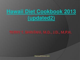 Hawaii Diet Cookbook 2013 (updated2) 9