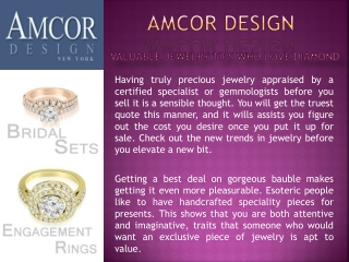 Valuable Jewelry Tips For Diamonds and Precious Stones