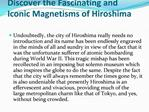 Get cheap flights to Hiroshima from London