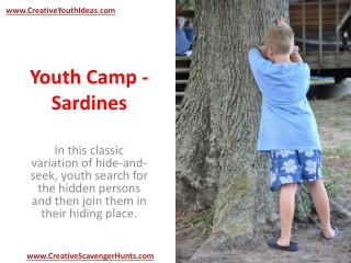 Youth Camp - Sardines