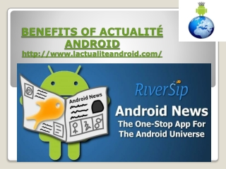 android news (actualit