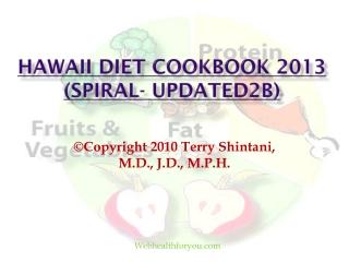 Hawaii Diet Cookbook 2013 (spiral-updated)10