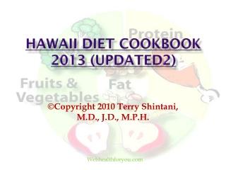 Hawaii Diet Cookbook 2013 (updated2)10
