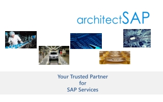 ArchitectSAP Solution Corporate Profile