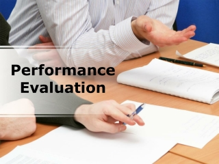 performance evaluation (modern) powerpoint presentation cont