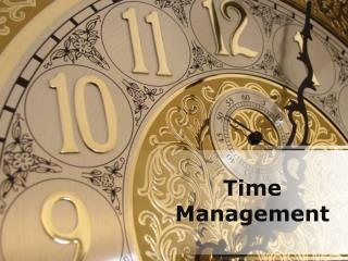 time management (modern) powerpoint presentation content: 13