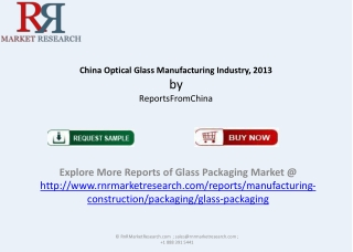 China Optical Glass Manufacturing Industry, 2013