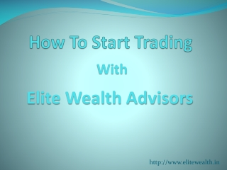 How to Invest in Share Market with Elite Wealth
