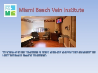 Miami Beach Vein Institute