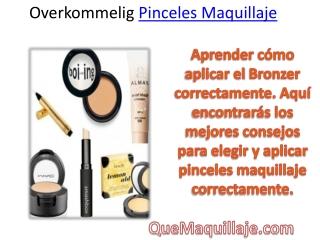 overkommelig Pinceles Maquillaje