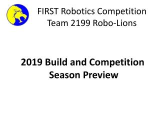 FIRST Robotics Competition Team 2199 Robo-Lions
