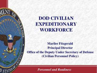 DOD CIVILIAN EXPEDITIONARY WORKFORCE