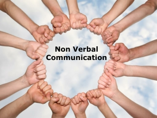 non-verbal communication (modern) powerpoint: 164 slides