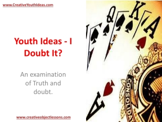 Youth Ideas - I Doubt It?