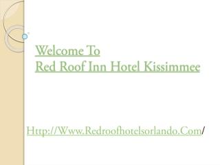 Red Roof Inn hotel Animal Kingdom