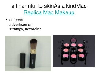 Replica Mac Makeup Wholesale