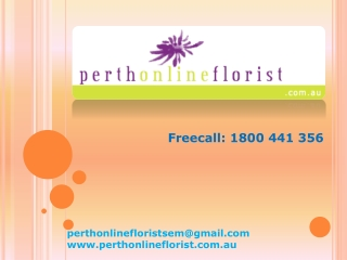 Perth Online Florist Bellons
