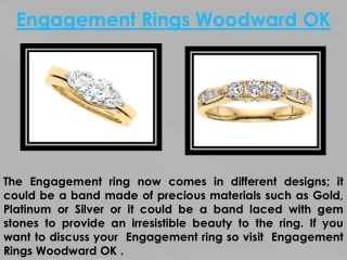Engagement Rings Woodward OK