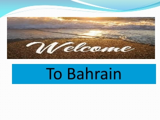 Find Cheap flights to Bahrain from London