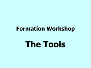 Formation Workshop
