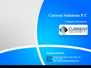 Current Solutions Company Profile
