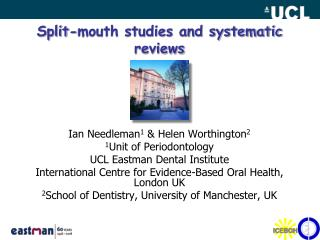 Split-mouth studies and systematic reviews