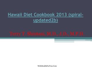 Hawaii Diet Cookbook 2013 (spiral- updated2b)12