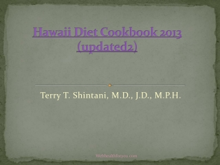 Hawaii Diet Cookbook 2013 (updated2)13