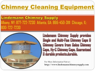 Chimney Cleaning Equipment