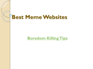 Best Meme Websites