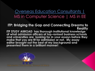 SOP for MBA in USA