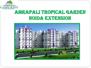New Project Amrapali Tropical Garden