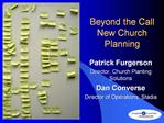 Beyond the Call New Church Planning