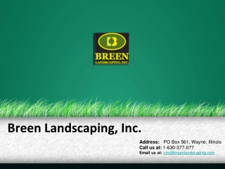 Breen Landscaping Company Profile