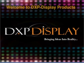 Trade Show Exhibits and DXP Display Products